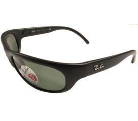 Ray-Ban Predator Sunglasses - Black Frame - Polarized G-15 Green Lens RB4033 601S48
