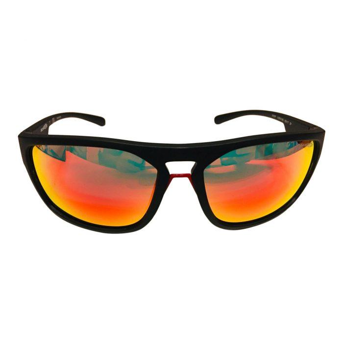 Arnette Brapp Sunglasses - Matte Black Frame - Red Mirror Lens AN4239 01/6Q 62