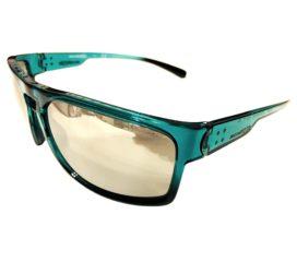 Arnette Brapp Sunglasses - Azure Blue Green Frame - Silver Mirror Lens AN4239 24936G