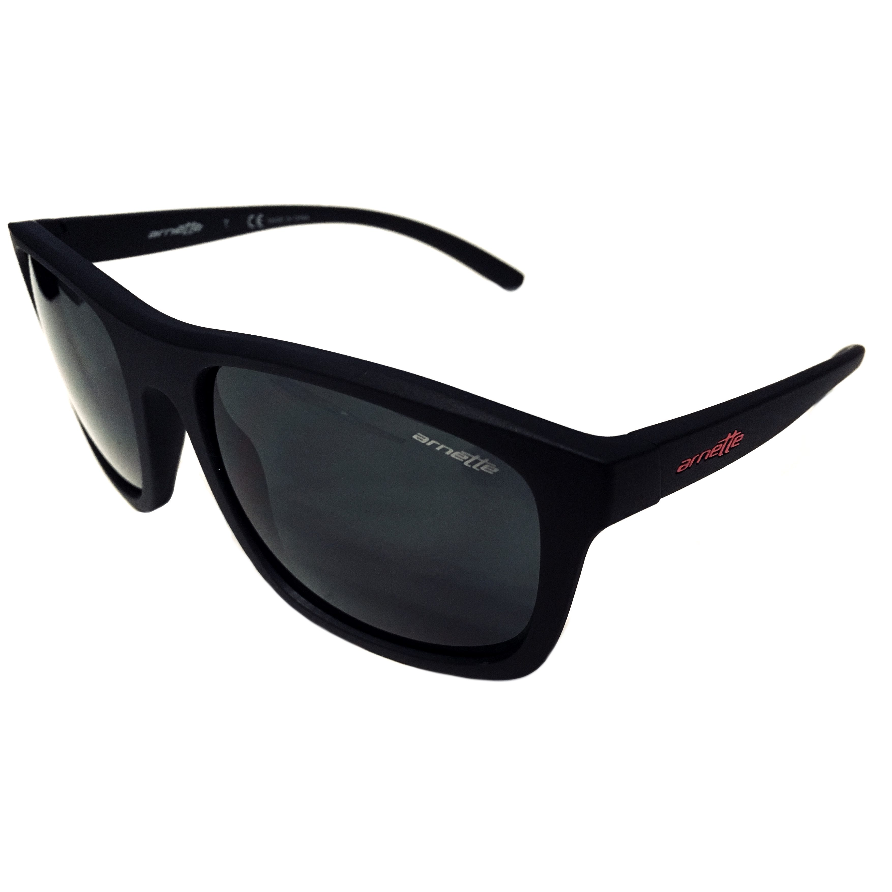 e709e320bf Arnette Complementary Sunglasses - Matte Black - Dark Grey AN4233 01 87