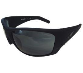 Arnette Heist 2.0 Sunglasses - Fuzzy Black Frame - Grey Lens AN4215-02