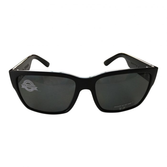Hoven Vision Mosteez Sunglasses - ANSI Compliant - Matte Black Frame - Polarized Grey Lens