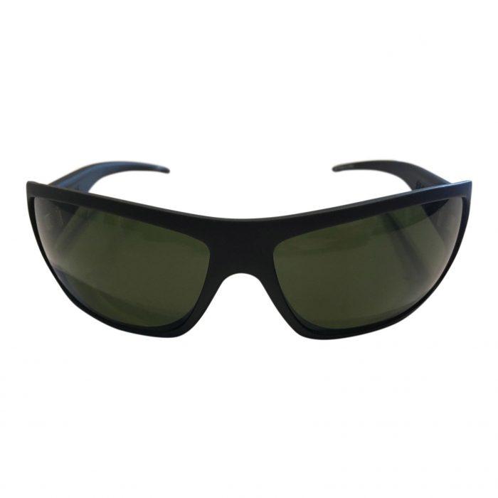 Electric Charge Sunglasses - Matte Black Frame - Melanin Grey Lens EE04101020