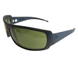 Electric Charge Sunglasses - Matte Black Frame - Melanin Gray Lens EE04101020