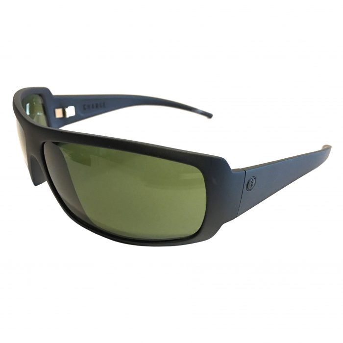 Electric Visual Charge Sunglasses - Matte Black - Melanin Grey EE04101020
