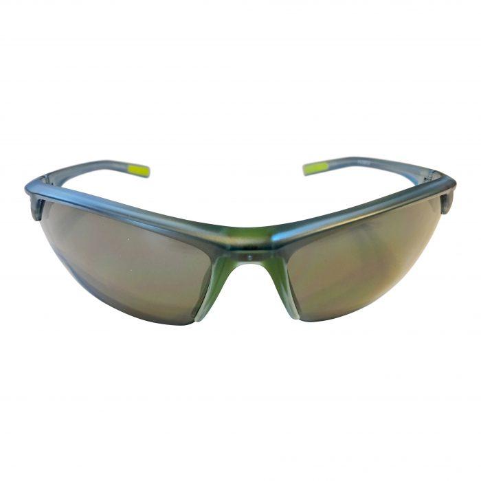Under Armour Zone 2.0 Sunglasses UA - Satin Crystal Blue Frame - Gray Lens 8600050-177501