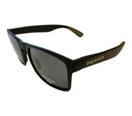 Hoven Vision Lunchbox Liquid Force Sunglasses - Matte Black Frame - Polarized Grey Lenses