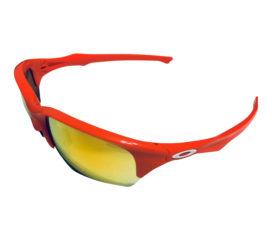 Oakley Flak Beta Sunglasses Asian fit (A) - Blood Orange - Fire Iridium OO9372-0465