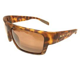 Native Eyewear Eldo Sunglasses - Desert Tortoise Frame - Polarized N3 Brown Lenses