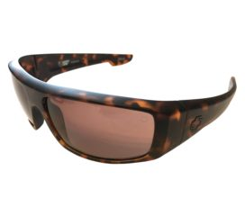 Spy Optic Logan Sunglasses - Matte Camo Tortoise Frame - Happy™ Bronze Lenses