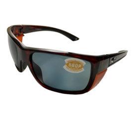 Costa Del Mar Rooster Sunglasses - Tortoise Frame - Polarized Gray 580P Lens