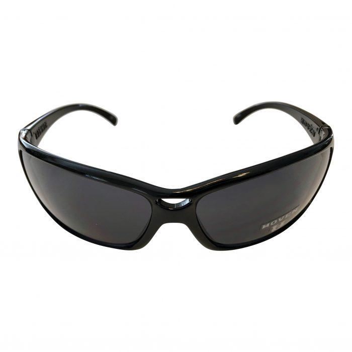 Hoven Vision Hammer Sunglasses - Gloss Black Frame - Grey Lens