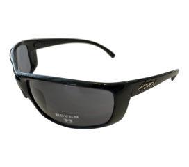 Hoven Vision Hammer Performance Sunglasses - Gloss Black Frame - Gray Lens