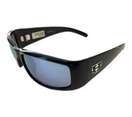 Hoven Vision The One Sunglasses - Gloss Black Frame - Polarized Sky Blue Lens