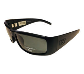 Hoven Vision The One Sunglasses - ANSI Compliant - Matte Black Frame - Polarized Gray