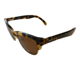 Hoven Vision Eddy Sunglasses - Animal Tortoise Frame - Polarized Brown Lens