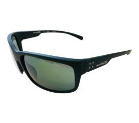 Arnette Fastball 2.0 Sunglasses - Matte Dark Green Frame - Mirror Lens AN4242 25106R