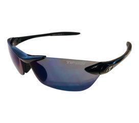 Tifosi Optics Seek Sunglasses - Gloss Black Frame - Smoke Blue Lens