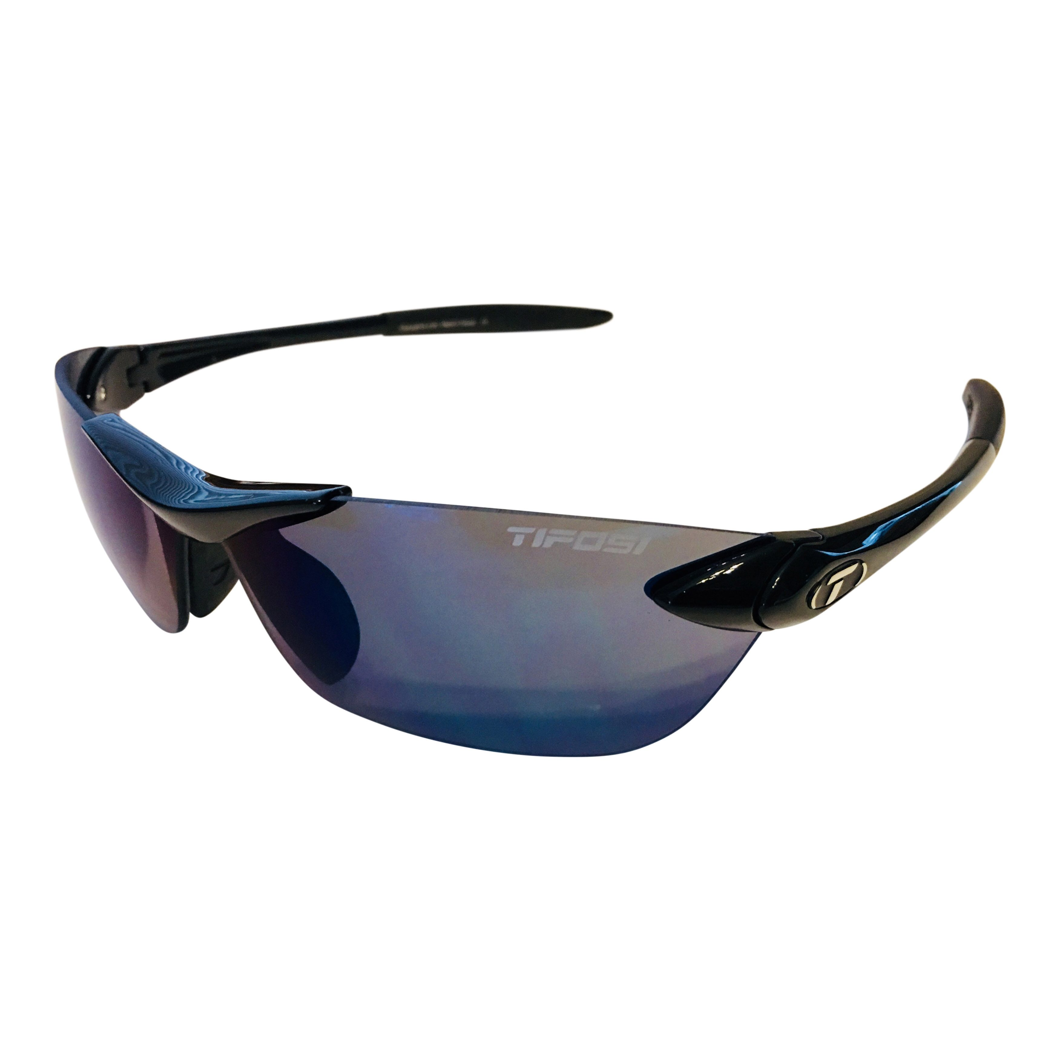 19957c423d1 Tifosi Optics Seek Sunglasses – Gloss Black Frame – Smoke Blue Lens