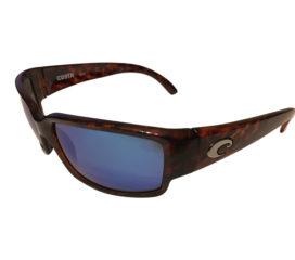 Costa Del Mar Caballito Sunglasses - Tortoise Frame - Polarized Blue Mirror Lens 400G