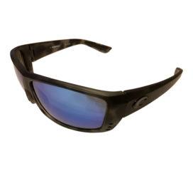 Costa Del Mar Cat Cay Sunglasses - Ocearch Tiger Shark Frame - Polarized Blue Mirror 400G
