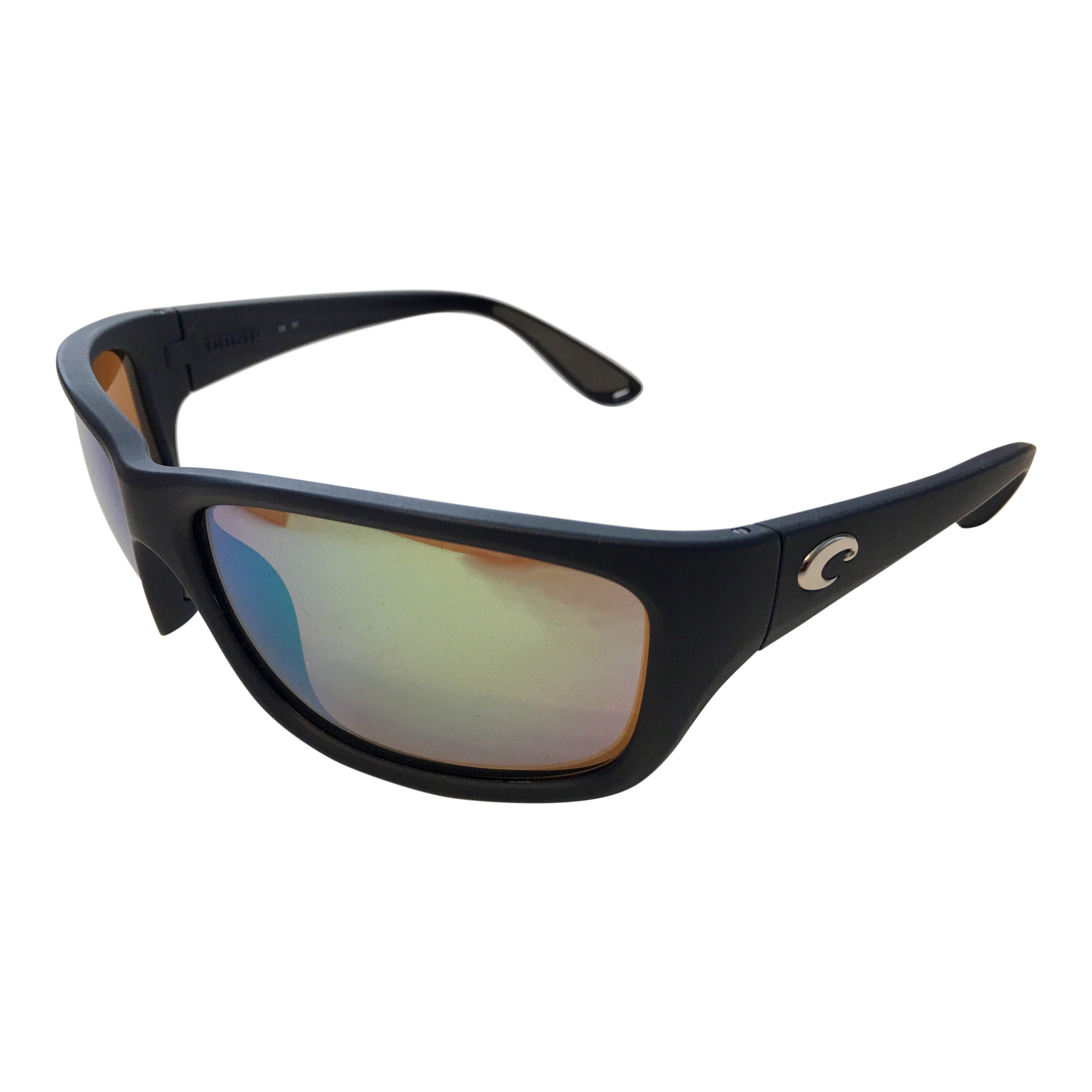 31482d07a7 Costa Del Mar Tasman Sea Sunglasses Matte Blue POLARIZED Green Mirror 400G