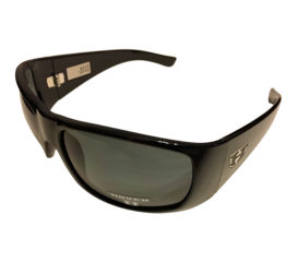 Hoven Vision Ritz Sunglasses - Gloss Black Frame - ANSI Polarized Gray Lens