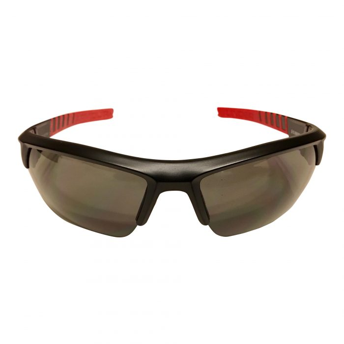 Under Armour Igniter 2.0 Sunglasses UA - Satin Black, Red & Yellow - Grey Lens