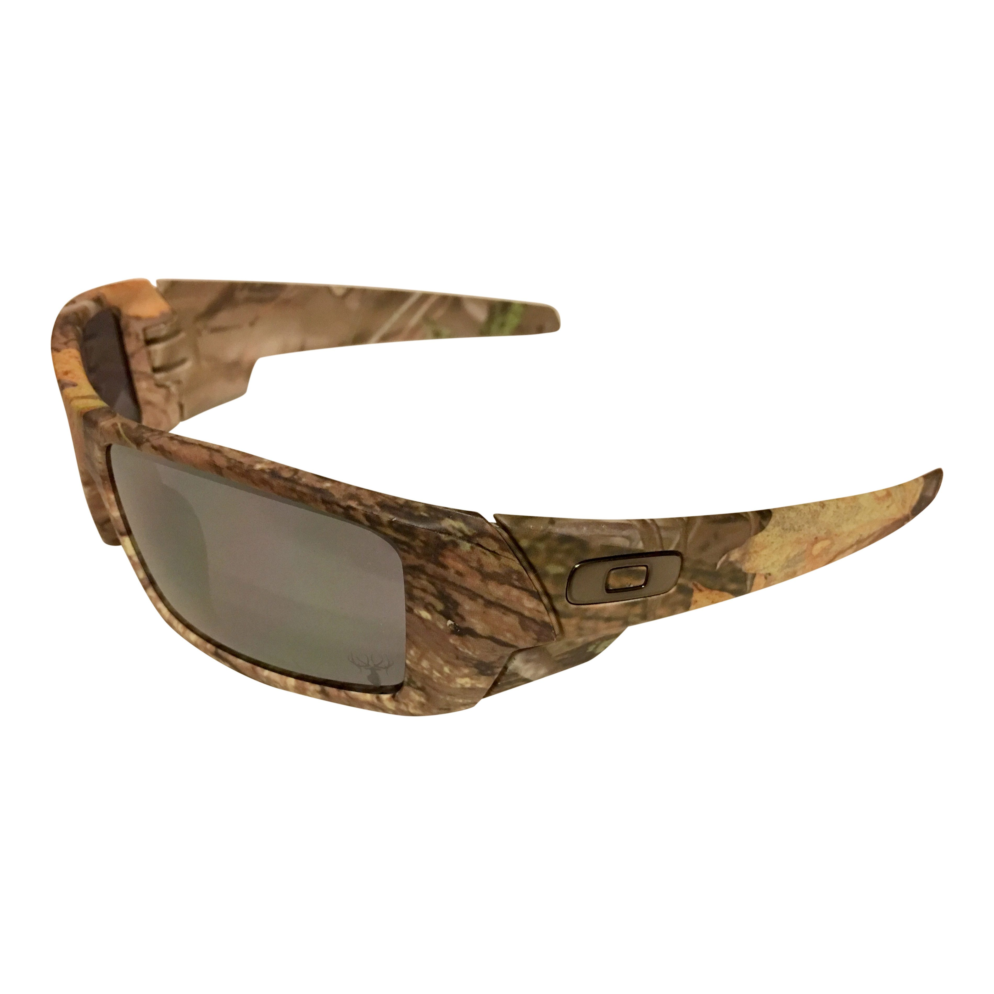 b579fe028f1 Oakley Gascan Sunglasses - Woodland Camo Frame - Black Iridium 03-483 Lens