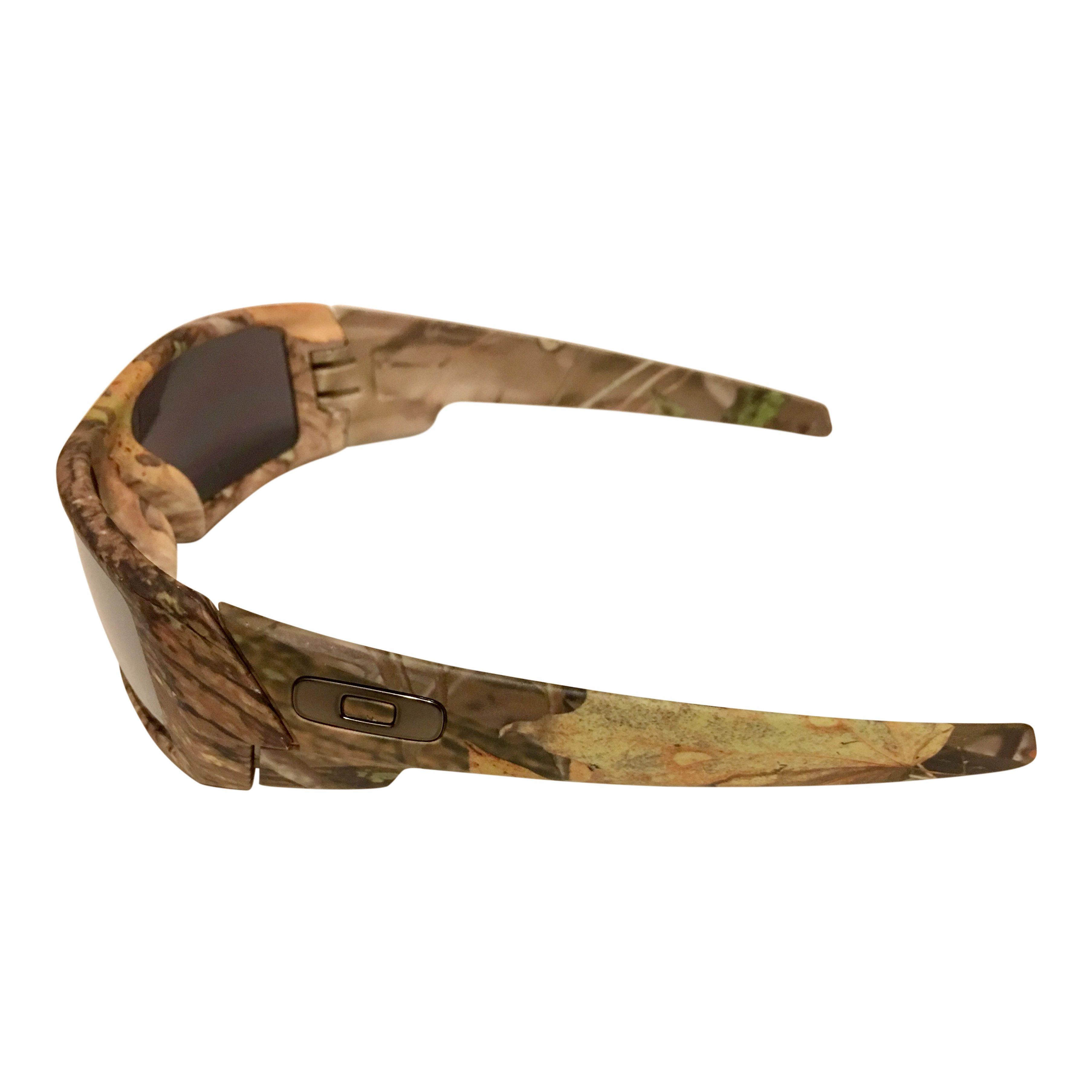 Oakley Gascan Sunglasses Woodland Camo Frame Black