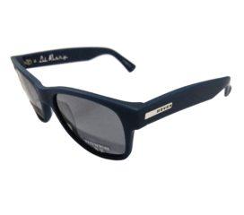 Hoven Vision Lil Risky Sunglasses - Dark Blue Matte Frame - Polarized Gray Lens