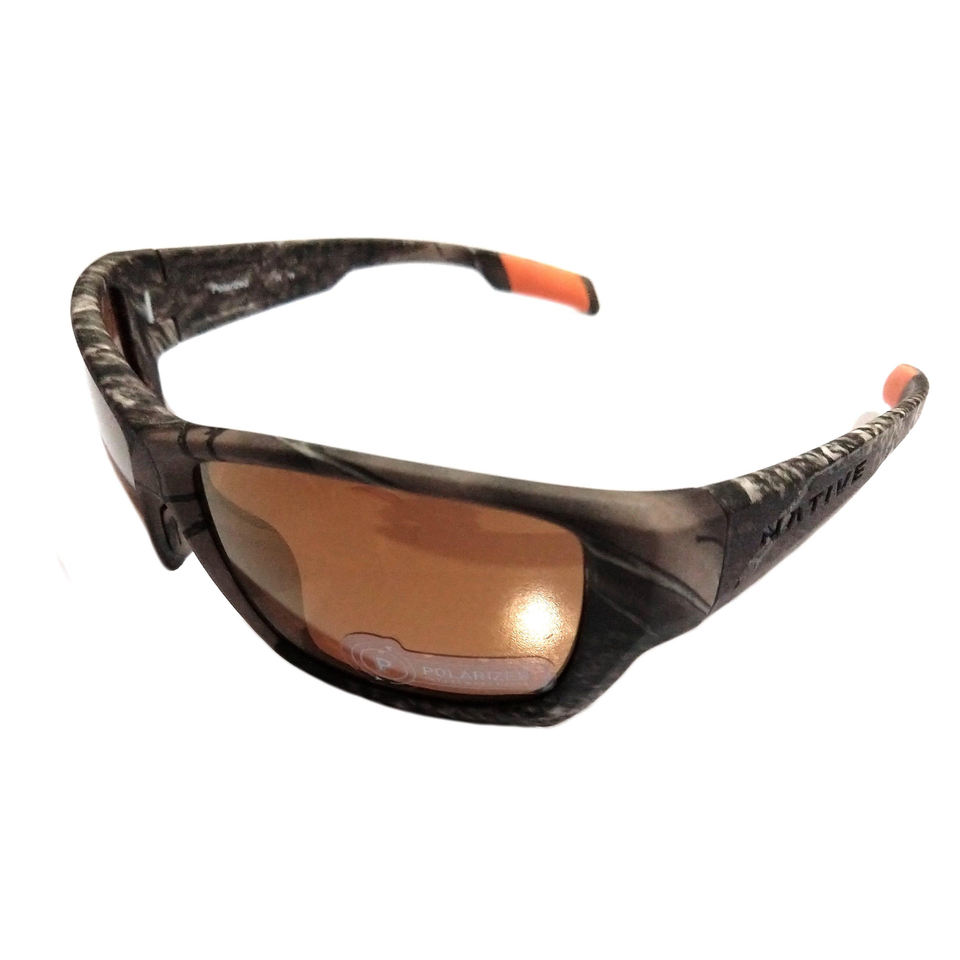 Native Eyewear Ward Sunglasses True Timber Camo POLARIZED Bronze XTRA Lens