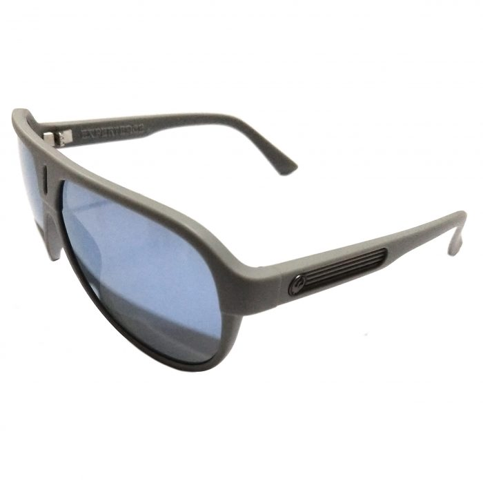 Dragon Experience 2 (II) Sunglasses - Matte Grey - Blue Ion Lens - 720-2211