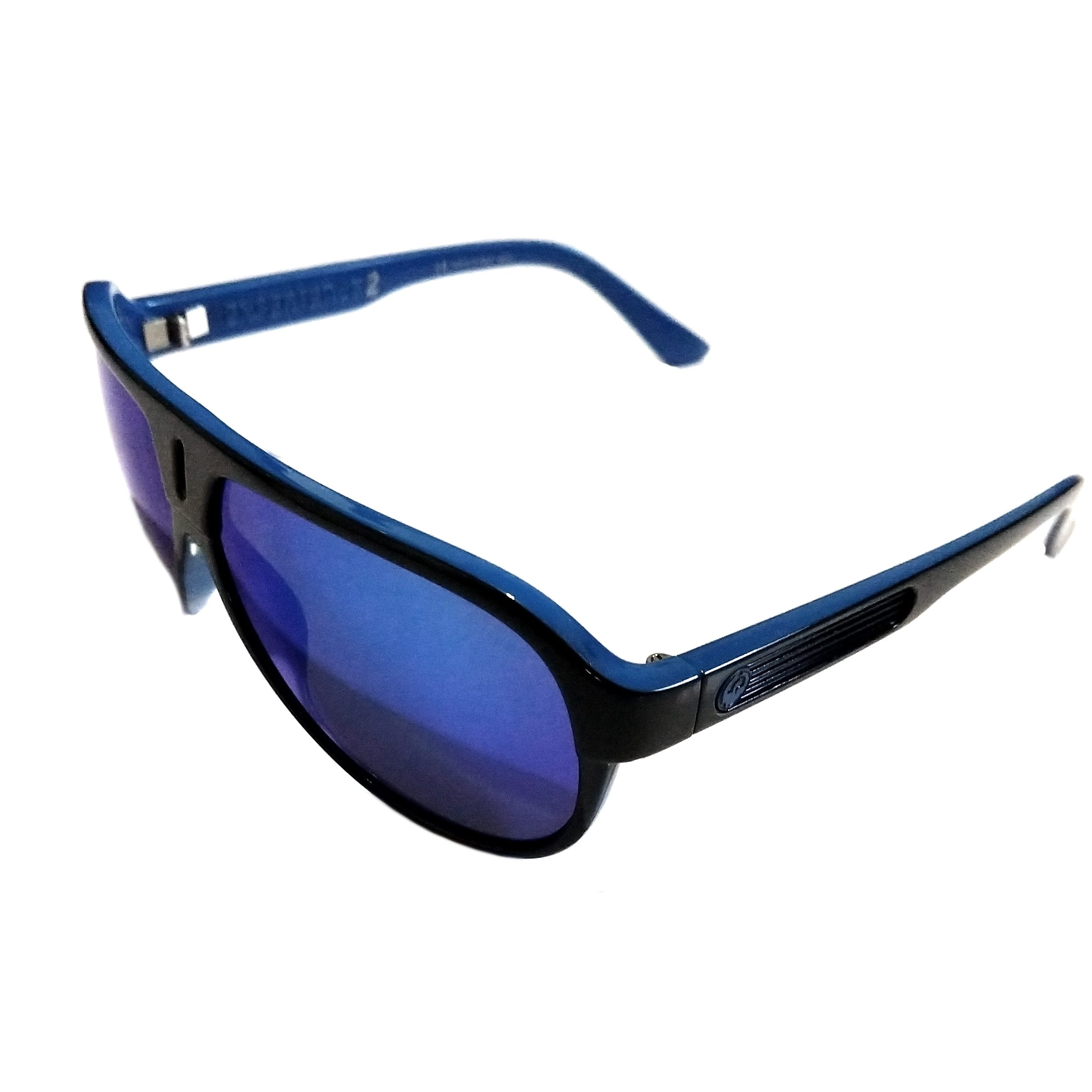Dragon Experience 2 (II) Sunglasses – Jet Blue Gloss Black – Blue Ion  720-2051 02e8d3008dfed