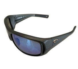 Costa Del Mar Montauk Sunglasses - Matte Steel Gray - Polarized Blue Mirror 400G