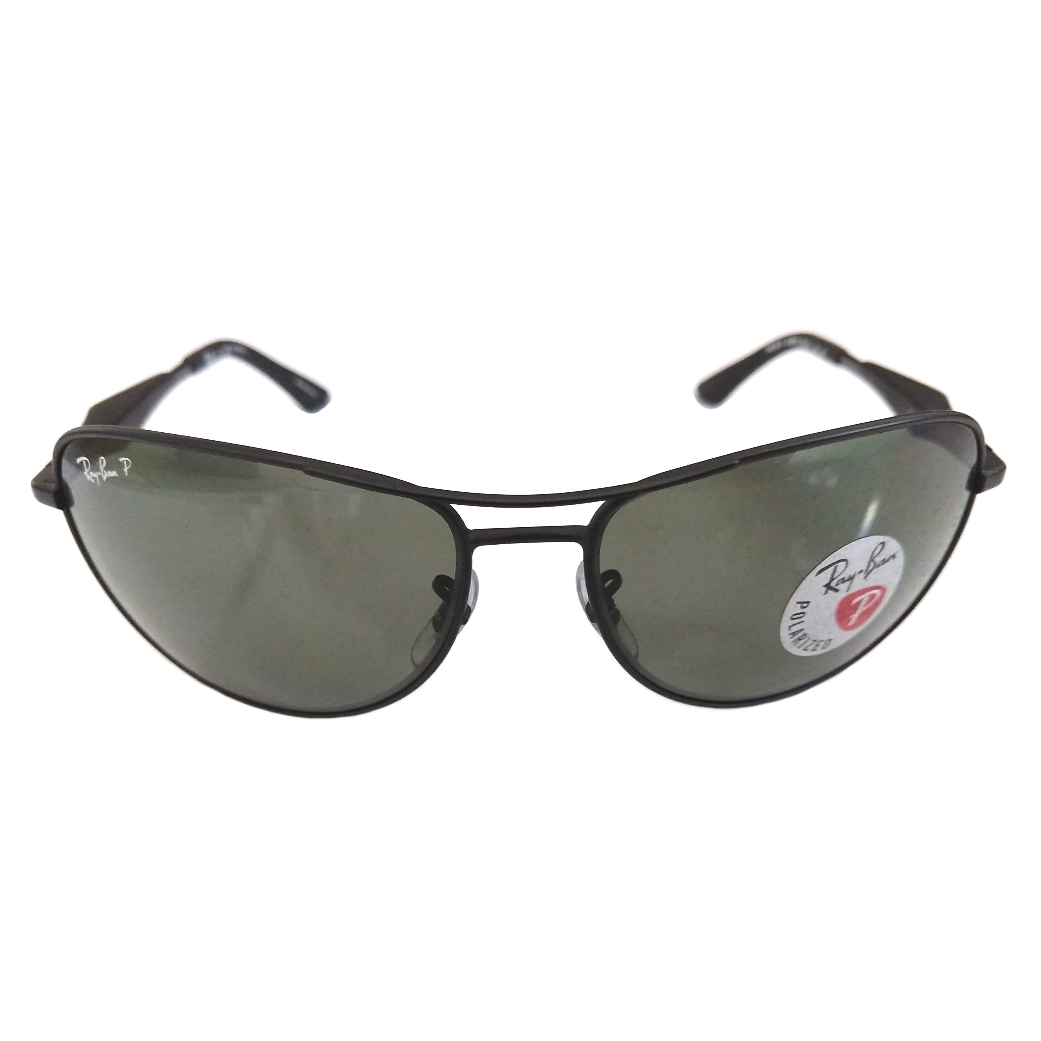 Ray Ban Aviator Sunglasses Matte Black Frame Polarized