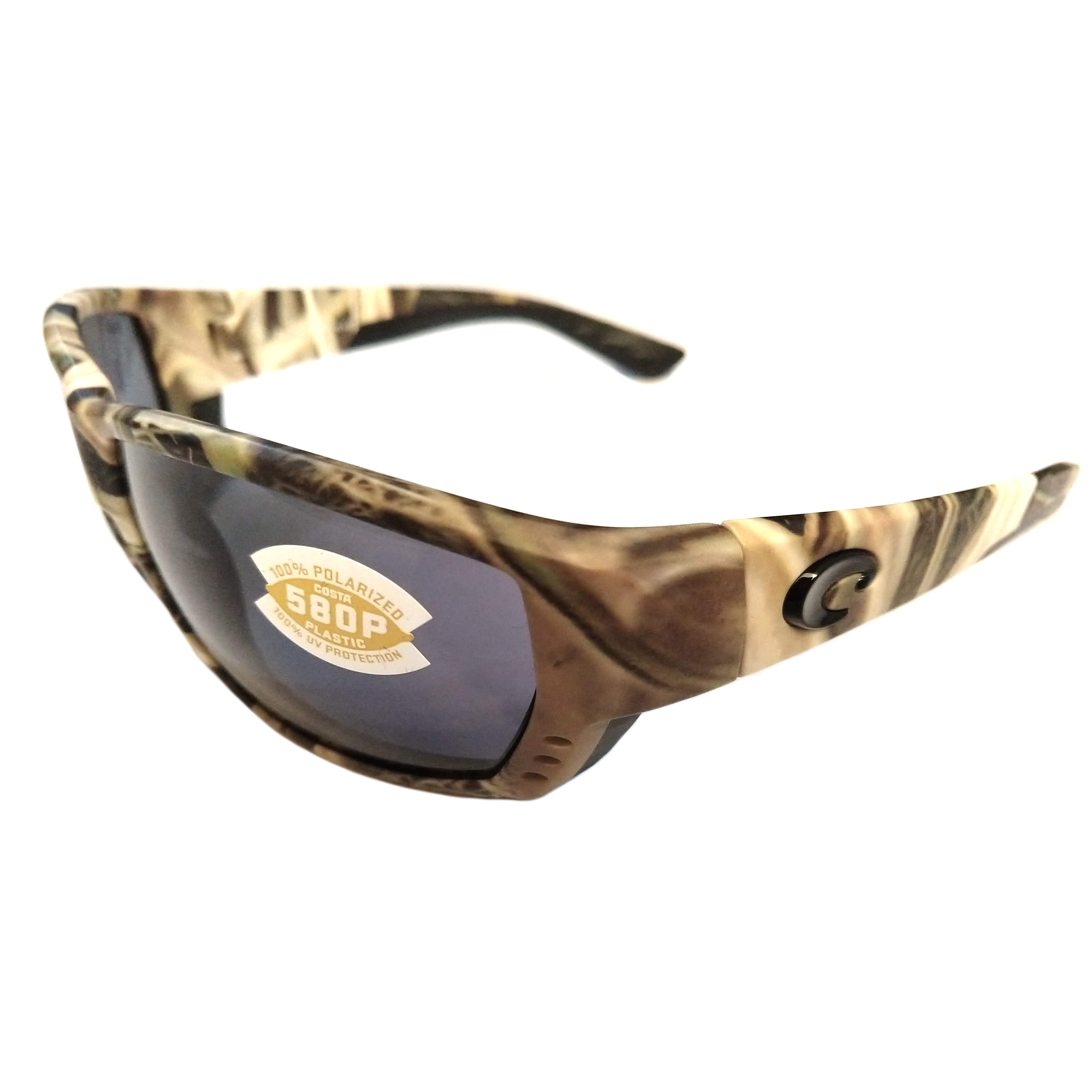 0347df77e0 Costa Del Mar Tuna Alley Sunglasses - Mossy Oak Camo POLARIZED Gray 580P