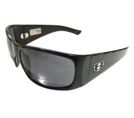 Hoven Vision Ritz Sunglasses - Black Frame - Sinatra Edition - Grey Lens