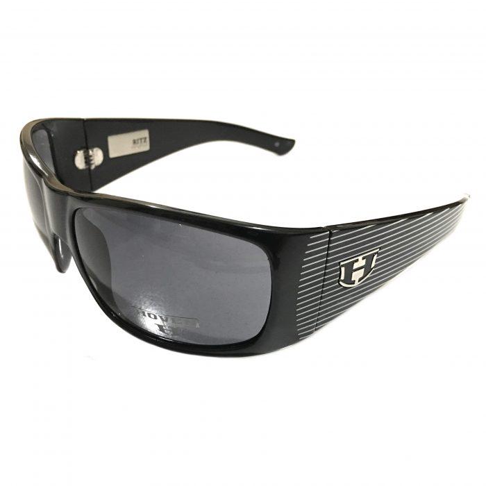 Hoven Vision Ritz Sunglasses - Black Frame - Sinatra Edition - Grey Lens