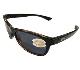 Costa Del Mar Prop Sunglasses - Coconut Fade Frame - Polarized Gray 580P Lens