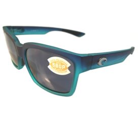 Costa Del Mar Playa Sunglasses - Matte Caribbean Fade Frame - Polarized Gray 580P Lens