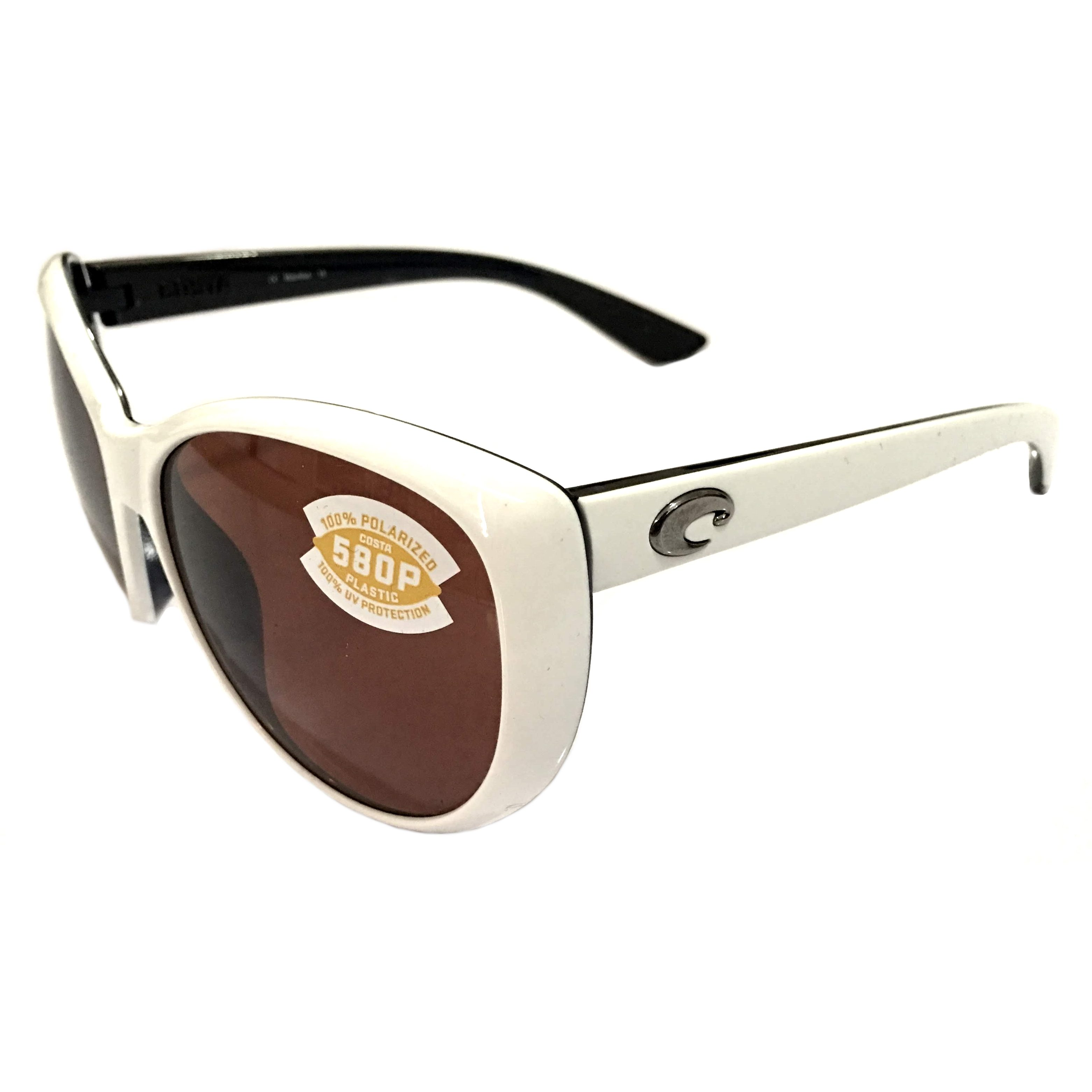 ea7ce348a3 Costa Del Mar La Mar Sunglasses – White   Topaz Frame – Polarized ...