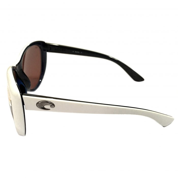Costa Del Mar La Mar Sunglasses - White Topaz - POLARIZED Copper 580P