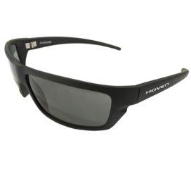 Hoven Vision Standard Sunglasses - Durable Black Matte Frame - Gray Lens