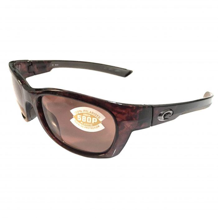 Costa Del Mar Trevally Sunglasses - Shiny Tortoise - POLARIZED Copper 580P