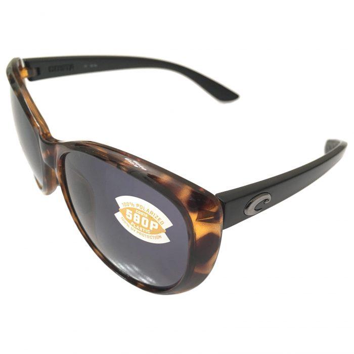 Costa Del Mar La Mar Sunglasses - Tortoise w/ Black - POLARIZED Gray 580P