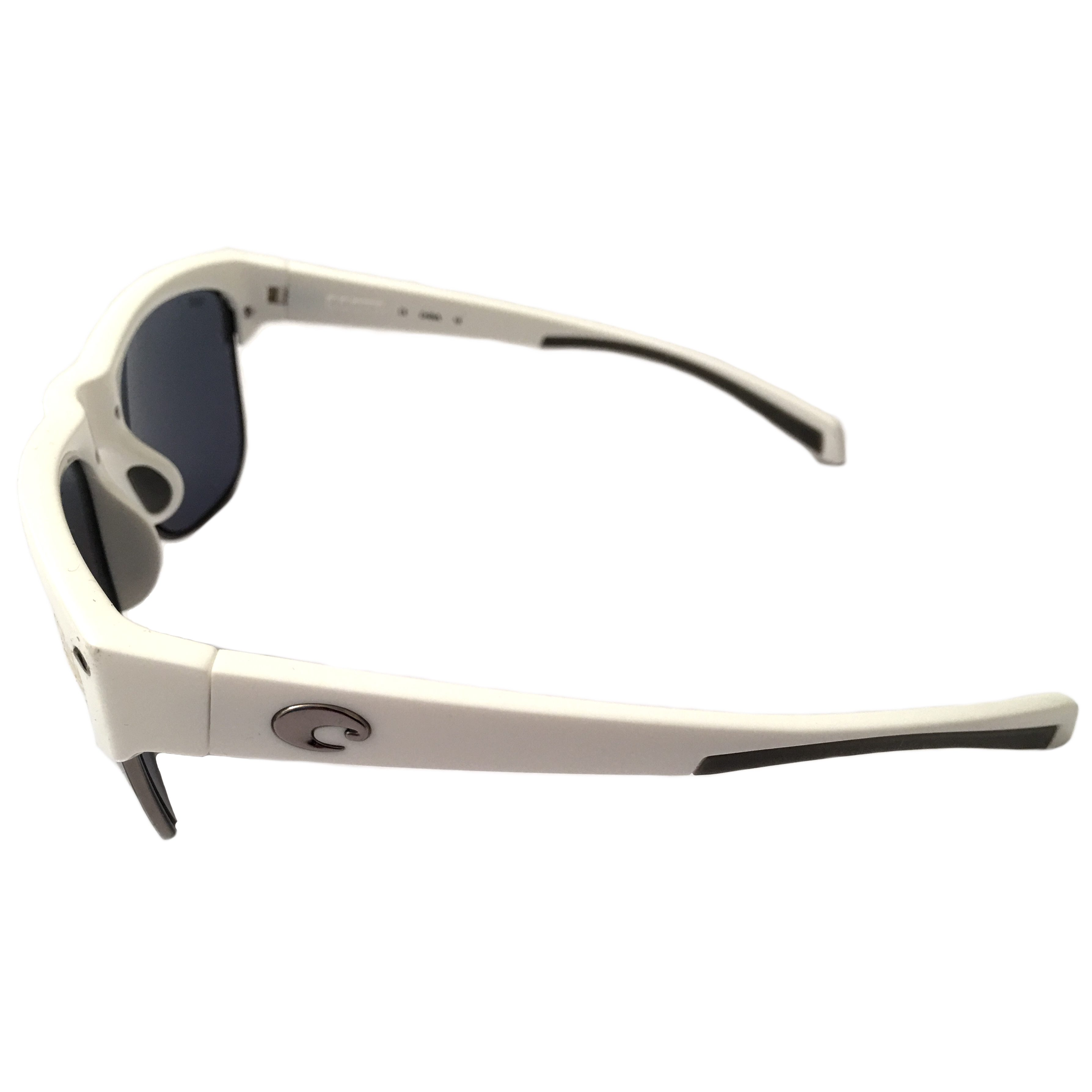 10525e80db87 Costa Del Mar Pawleys Sunglasses - White Frame - POLARIZED Gray 580P Lens