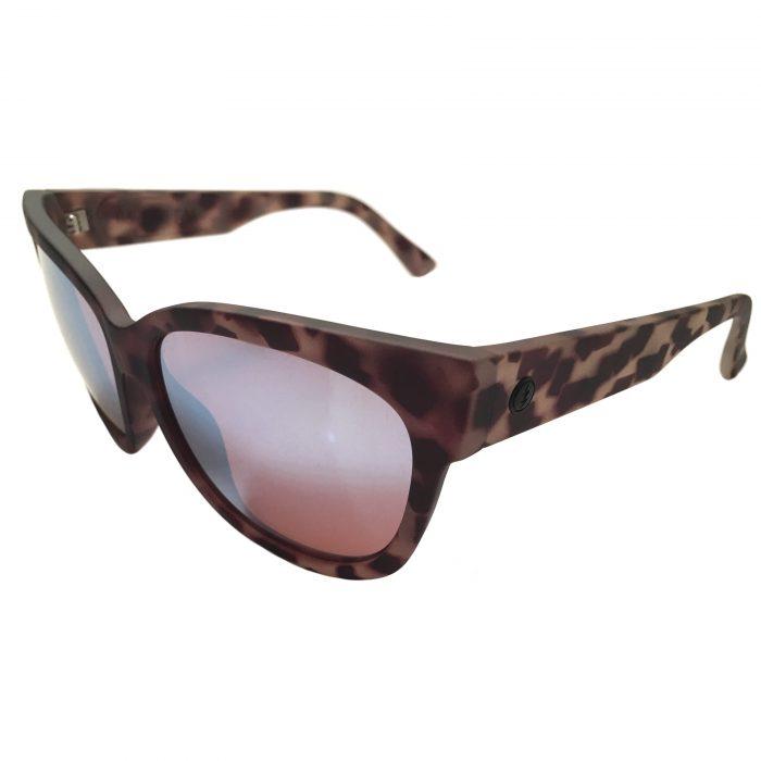 Electric Visual Danger Cat Sunglasses - Nude Tortoise OHM Sky Blue Lens