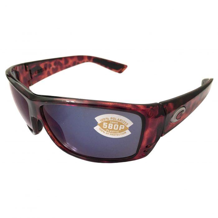 Costa Del Mar Cat Cay Sunglasses - Tortoise - POLARIZED Blue Mirror 580P