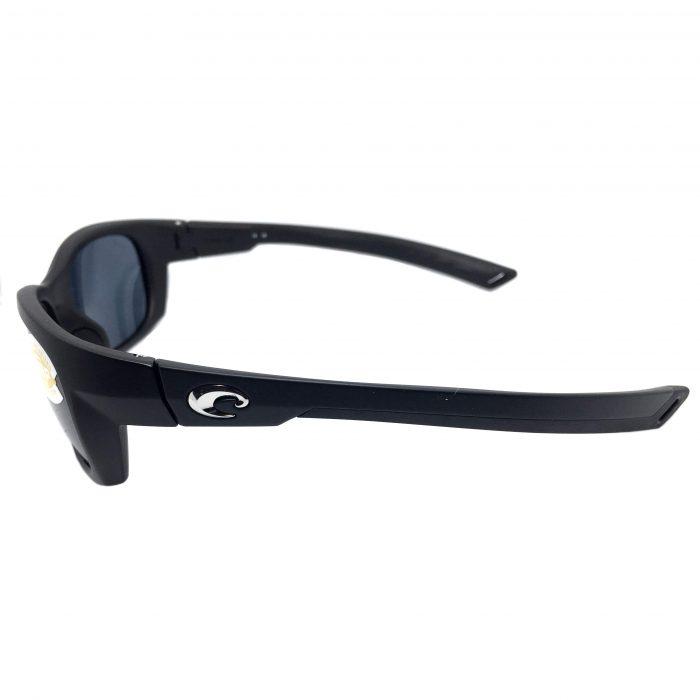 Costa Del Mar Trevally Sunglasses - Matte Black Gunmetal POLARIZED Gray 580P